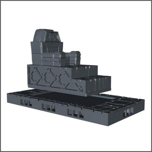 Throne printed set