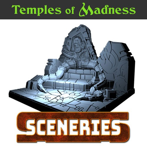 Temples of madness rpg model