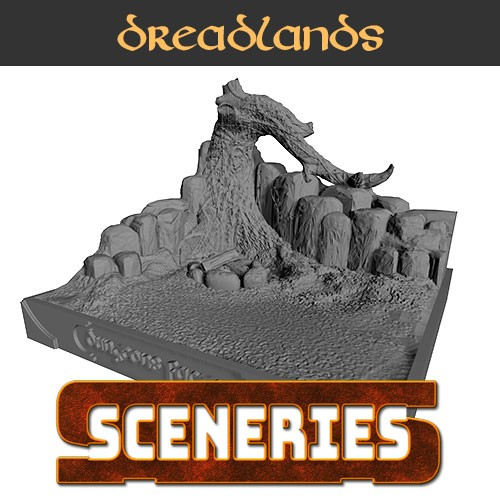 Dreadlands 3d printable scenery
