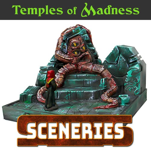 Temples of madness 3d printable set