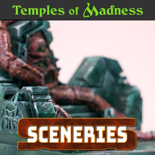 Temples of madness lovecraftian diorama