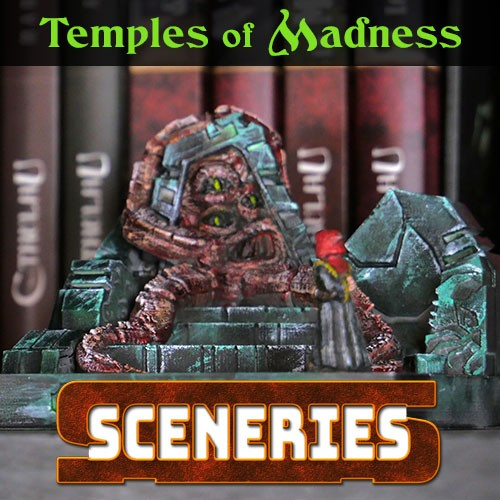 Temples of madness Sceneries