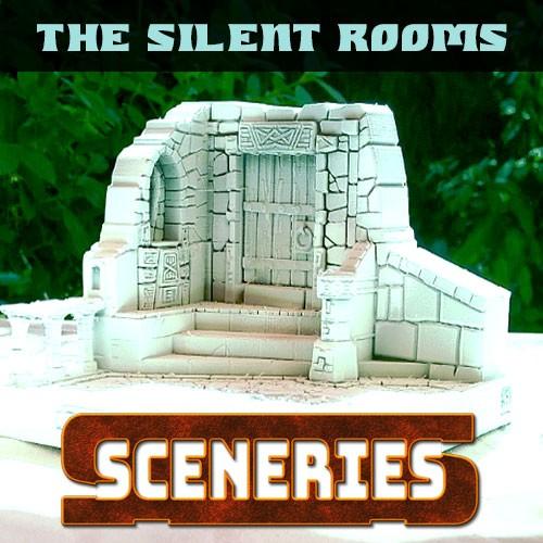 silent rooms diorama unpaint